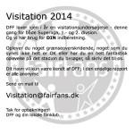 Visitering forår 2014